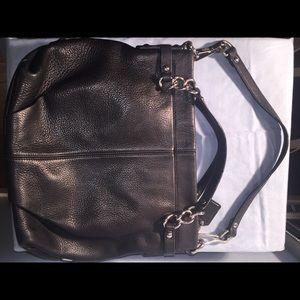 Vintage Coach Pebble leather hobo bagF17165 Brooke